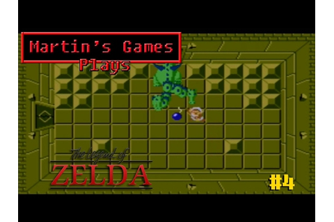 The Legend of Zelda - Dungeon 4 (NES Game Play) - YouTube