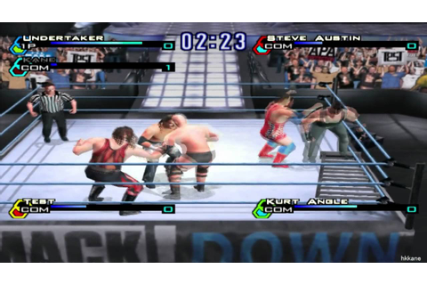 WWF SmackDown Just Bring It Pcsx2 Gameplay - YouTube