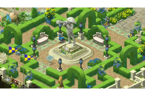 Gardenscapes level 860 - YouTube
