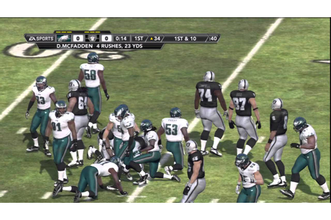 Madden NFL 12 Gameplay (PS3) - Philadelphia Eagles at ...