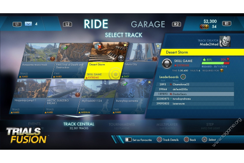 Trials Fusion - Tai game | Download game Đua xe