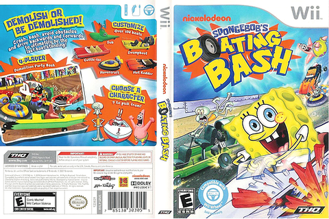 SBVE78 - SpongeBob's Boating Bash