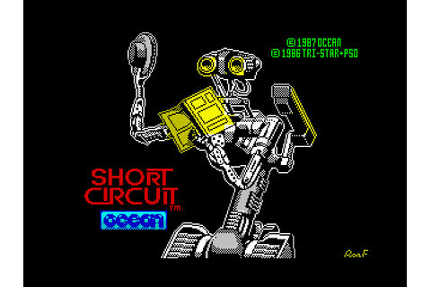 Super Adventures in Gaming: Short Circuit (ZX Spectrum ...