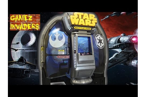 Star Wars Battle Pod (2016 Arcade Game) First Mission ...