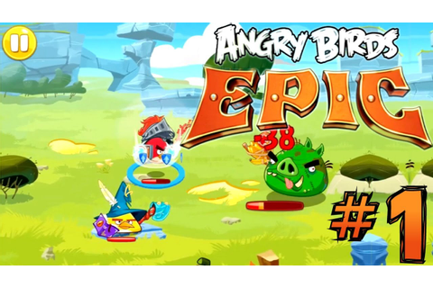 Let's Play Angry Birds Epic #1 - First 30 Minutes - YouTube