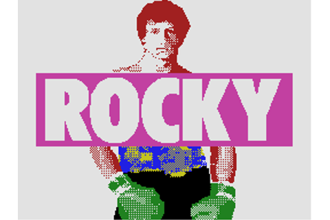 Rocky: Super Action Boxing by Coleco - CBS - ColecoVision ...