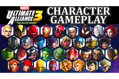 Marvel Ultimate Alliance 3 The Black Order GAMEPLAY Switch ...