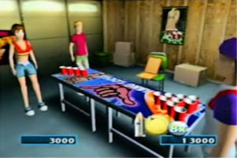Frat Party Games: Pong Toss (WiiWare) Game Profile | News ...