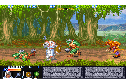 Play King of Dragons, The Capcom CPS 1 online | Play retro ...