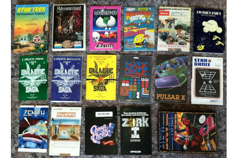 17 Best images about Vintage Computer Games on Pinterest ...