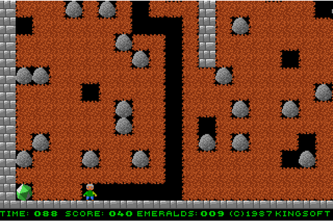 Emerald Mine (1987) by Kingsoft Amiga game