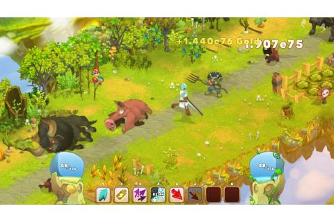 Clicker Heroes su Qwant Games