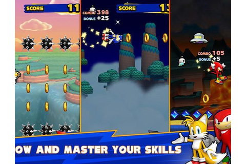 Download Sonic Runners on PC with BlueStacks