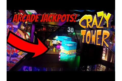 CRAZY TOWER ARCADE 1000 TICKETS JACKPOT WINNER! Winning ...