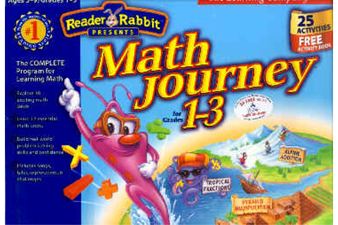 Reader Rabbit Interactive Math Journey Information and ...