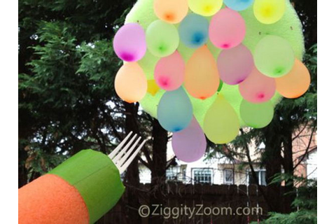 Pics Photos - Easy Water Balloon Games For Kids