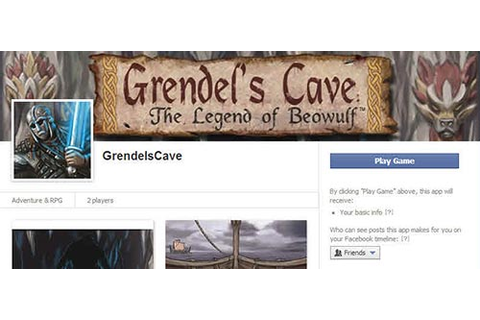 Grendel's Cave Role-playing Game | Beowulf Resources
