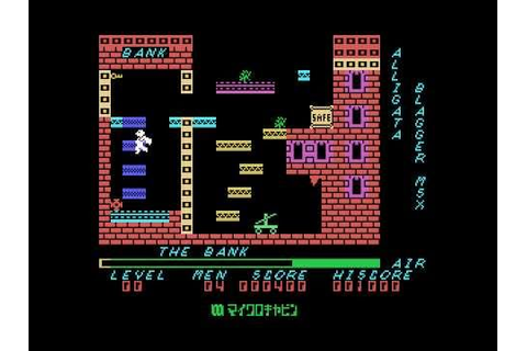Blagger / ブラッガー (MSX) - Gameplay - YouTube