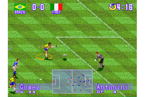 International Superstar Soccer Deluxe Screenshots ...