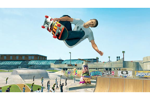 Take a 'RIDE' with Tony Hawk