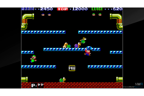 Arcade Archives Mario Bros. Review - Review - Nintendo ...