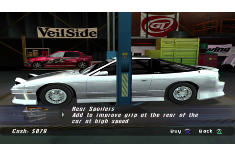 The Fast and the Furious: Tokyo Drift (Game) - Career ...