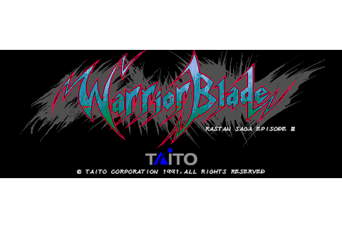Warrior Blade: Rastan Saga Episode III (1990) by Taito ...