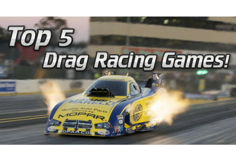 Top 5 Best Drag Racing Games For iOS! 2017 - YouTube