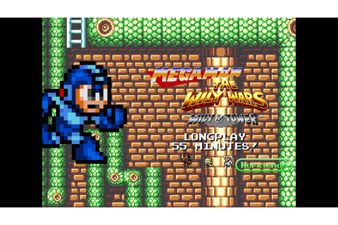 [Longplay] Mega Man The Wily Wars: Wily Tower for Genesis ...