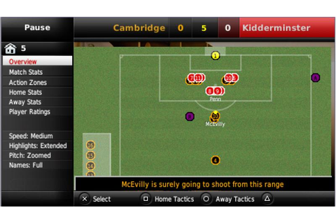 Football Manager Handheld 2009 (PSP) | Sports Interactive