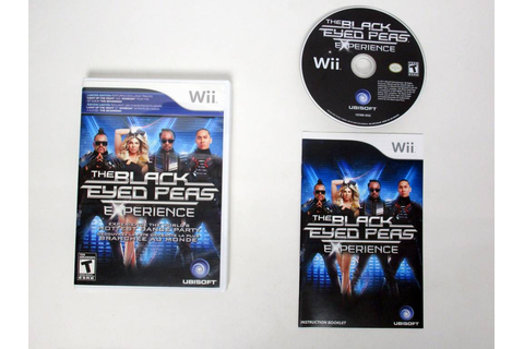 Black Eyed Peas Experience game for Nintendo Wii | The ...