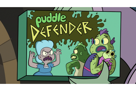 Image - S3E5 Puddle Defender board game box.png | Star vs ...