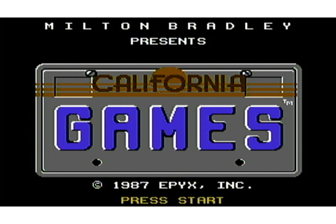 California Games - NES Gameplay - YouTube