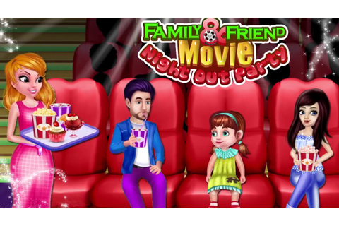 Family & Friend Movie Night Out Party - Movie Night Party ...