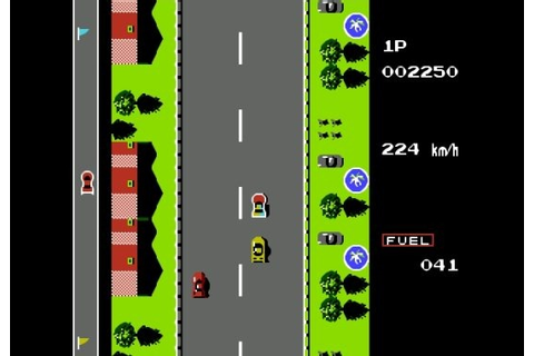 Road Fighter Game for PC : Free Download