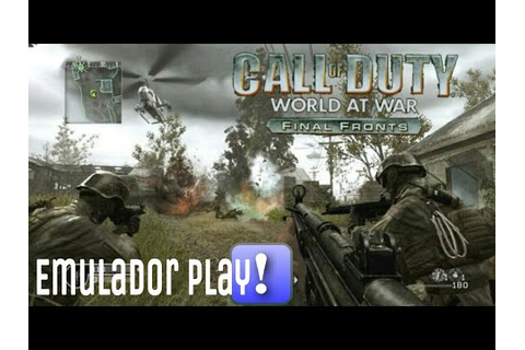 EmuladorPlay!: Testando o Jogo Call Of Duty World At War ...