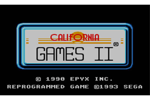 California Games II Review for Master System (1993 ...