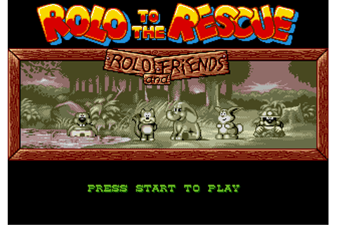 Play Rolo to the Rescue Sega Genesis online | Play retro ...