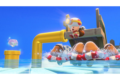 Captain Toad Treasure Tracker: gameplay off-screen dalla ...