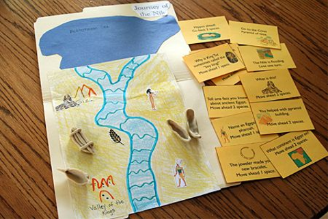 Journey of the Nile game and other Ancient Egyptian ...