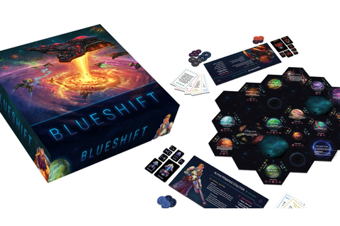 Blueshift: The Game of Galactic Conquest for 2-6 Players ...