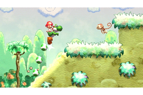 Yoshi's New Island (3DS) Review - GamerBolt