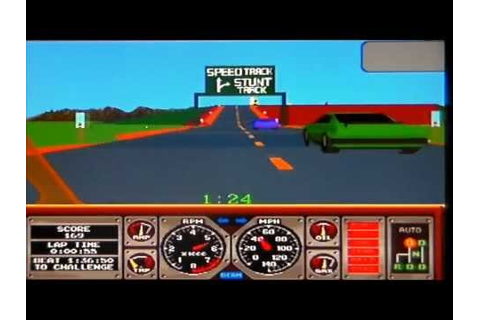 Hard Drivin Arcade (PS2) - YouTube