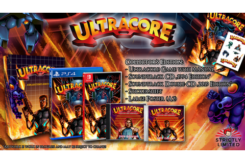 Ultracore Collector's Edition (Nintendo Switch) - Preorder ...