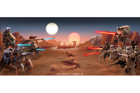 Infographic: Disney's Star Wars Commander Mobile Game ...