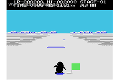 Antarctic Adventure - Coleco Vision - Games Database