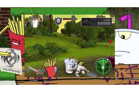 Classic Capture - Aqua Teen Hunger Force Zombie Ninja Pro ...