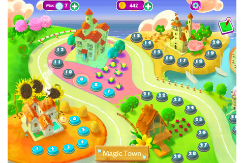Play game Magic Jewels - Free games online for kids