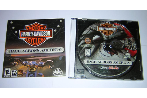 Harley Davidson: Race Across America for Windows PC CD-ROM ...