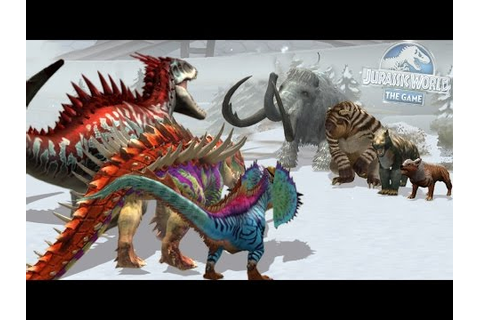 INDOMINUS REX - JURASSIC Vs CENOZOIC - BLOOD WARS ...